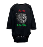 Rasta Courage Infant Long Bodysuit