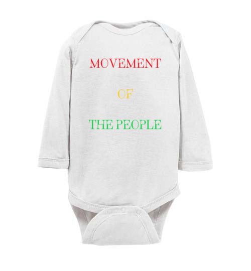 Infant Movement of the People Bodysuit
