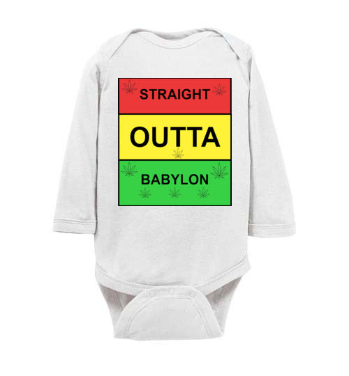Infant Straight Outta Babylon Jumper