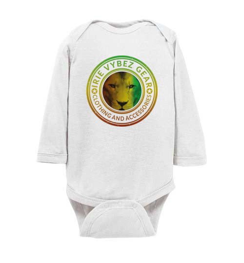 Infant Rasta Lion Medallion Bodysuit
