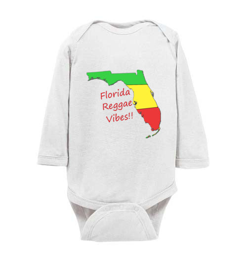 Infant Florida Reggae Vibes! Bodysuit