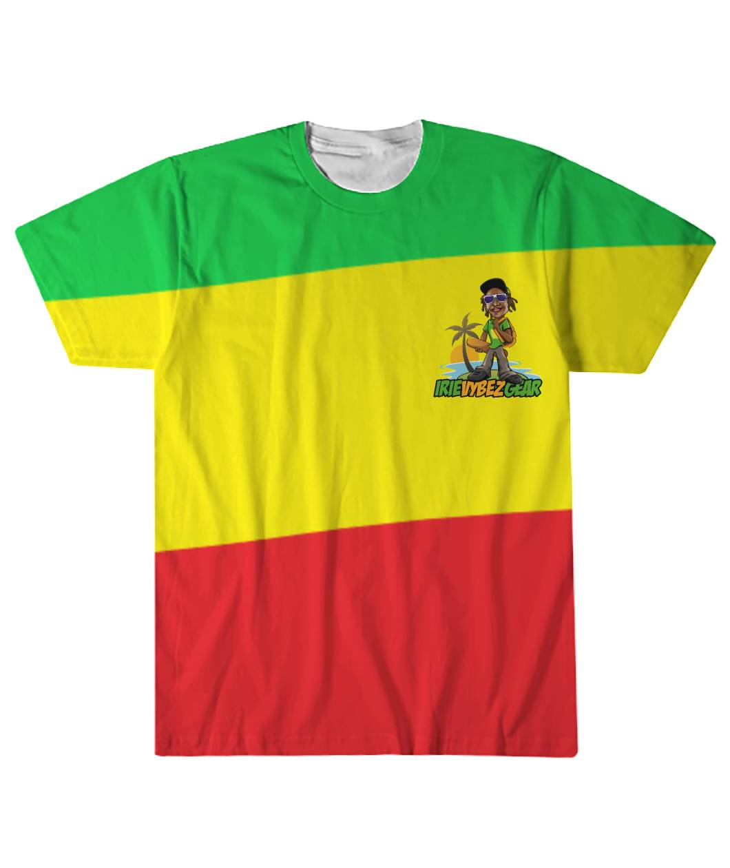IVG Rasta Logo Sublimation Tee
