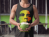 "Men's Bob Marley ""A fool is thirsty"" Tank"