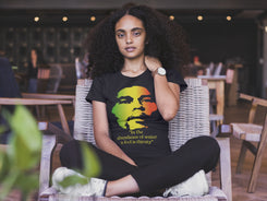 "Women's Bob Marley ""A fool is thirsty"" Tee"