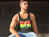 Saint Petersburg Loves Reggae Men's Tank Top