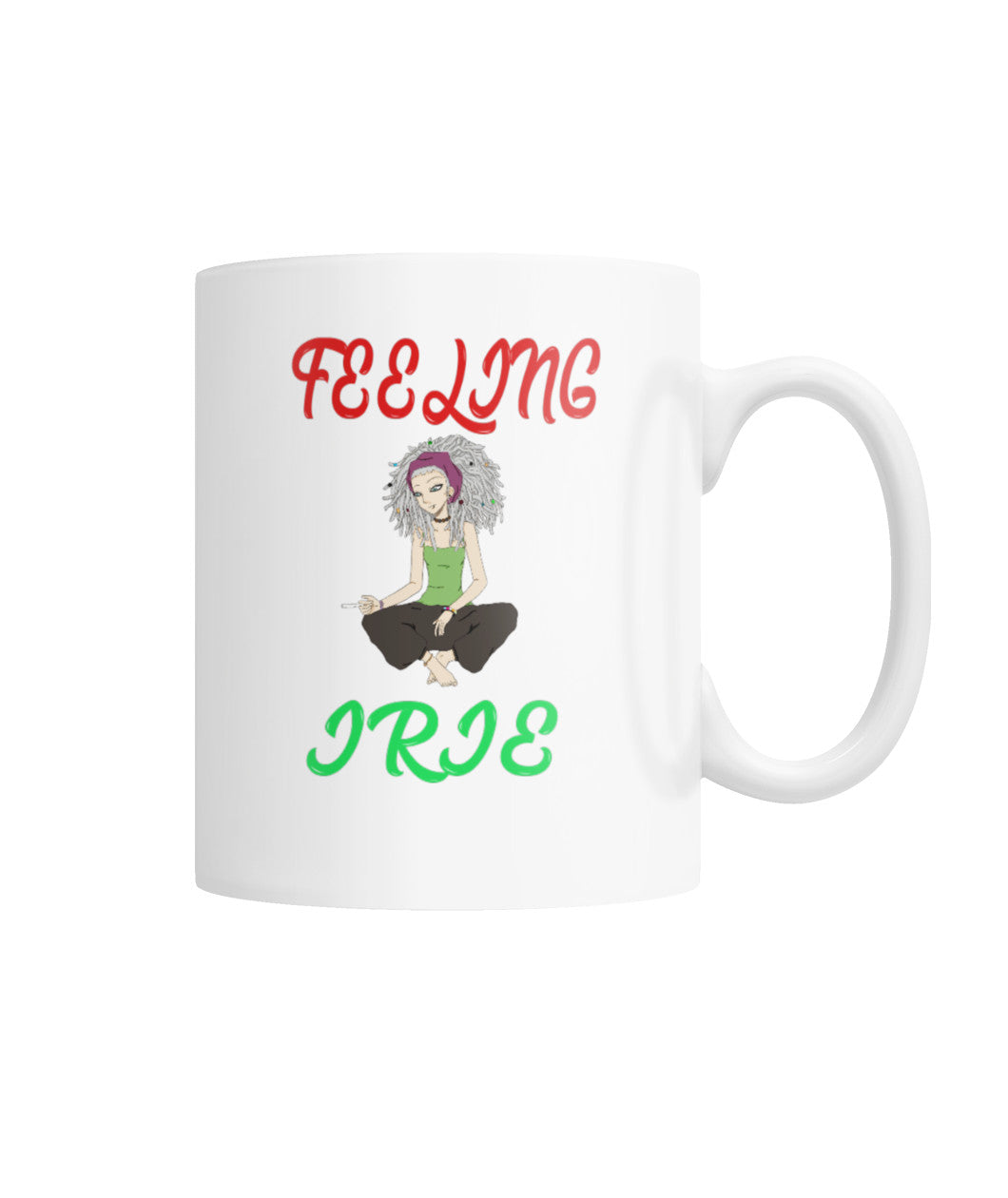 Feeling Irie Girl  Coffee Mug