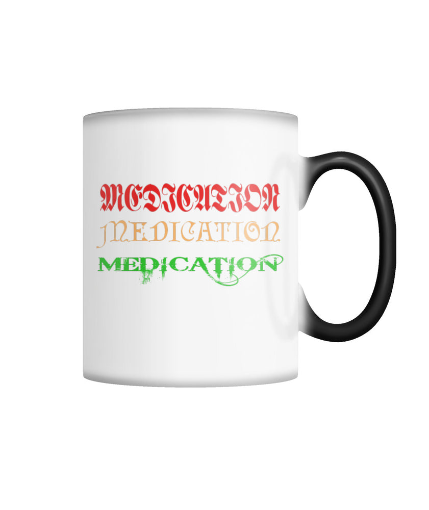 Medication  Color Changing Mug