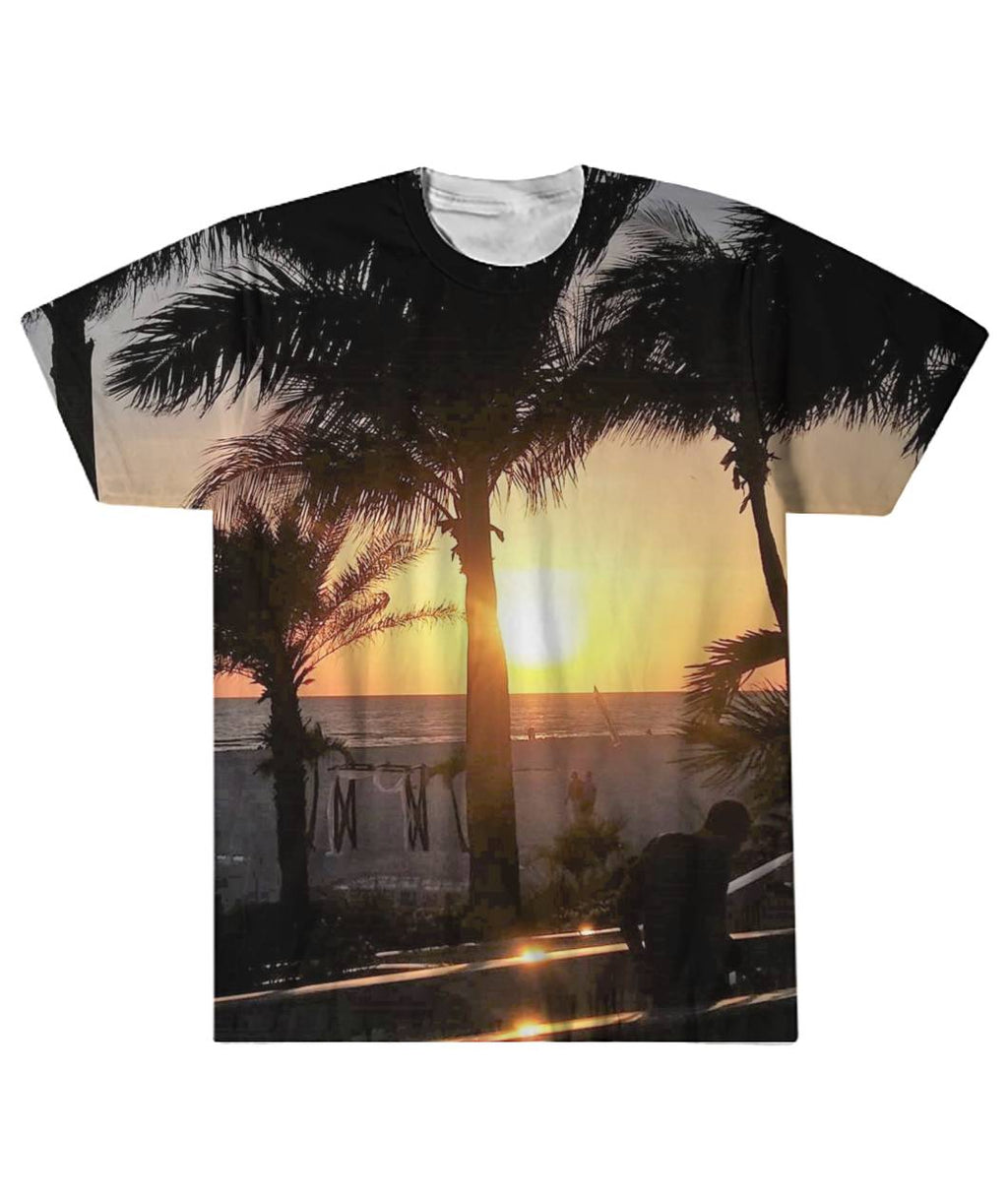 Beach Sunset Sublimation Tee