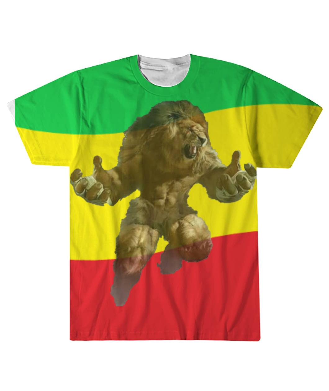 Conquering Lion  Sublimation Tee