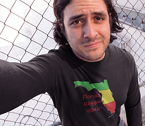 Florida Reggae Vibes! Long Sleeve reggae clothing