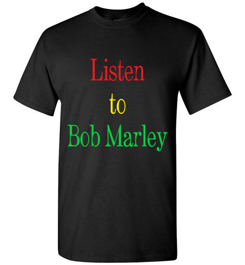 Men's Listen to Bob Marley Tee
