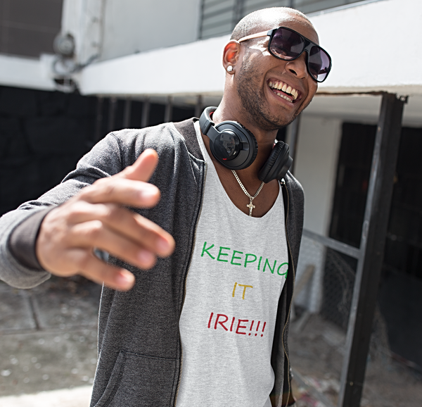 Men's Keeping it irie! Tank