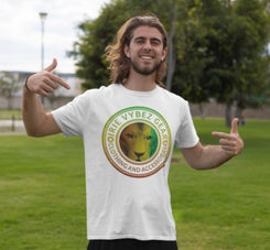 Men's IVG Rasta Lion Medallion Tee