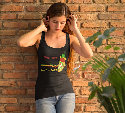 One Love One Heart Women's Tank
