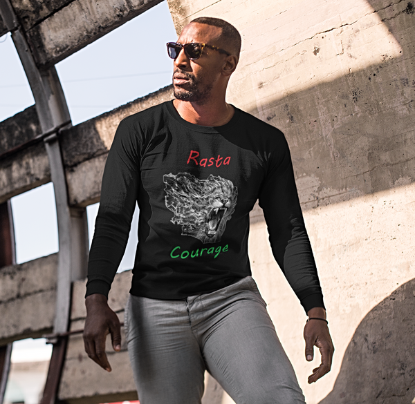 Rasta Courage Long Sleeve