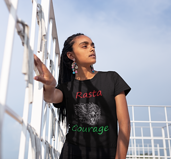 Rasta Courage Women's Tee