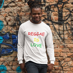 Reggae is love Unisex Long Sleeve