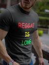 Reggae is love Men's Tee