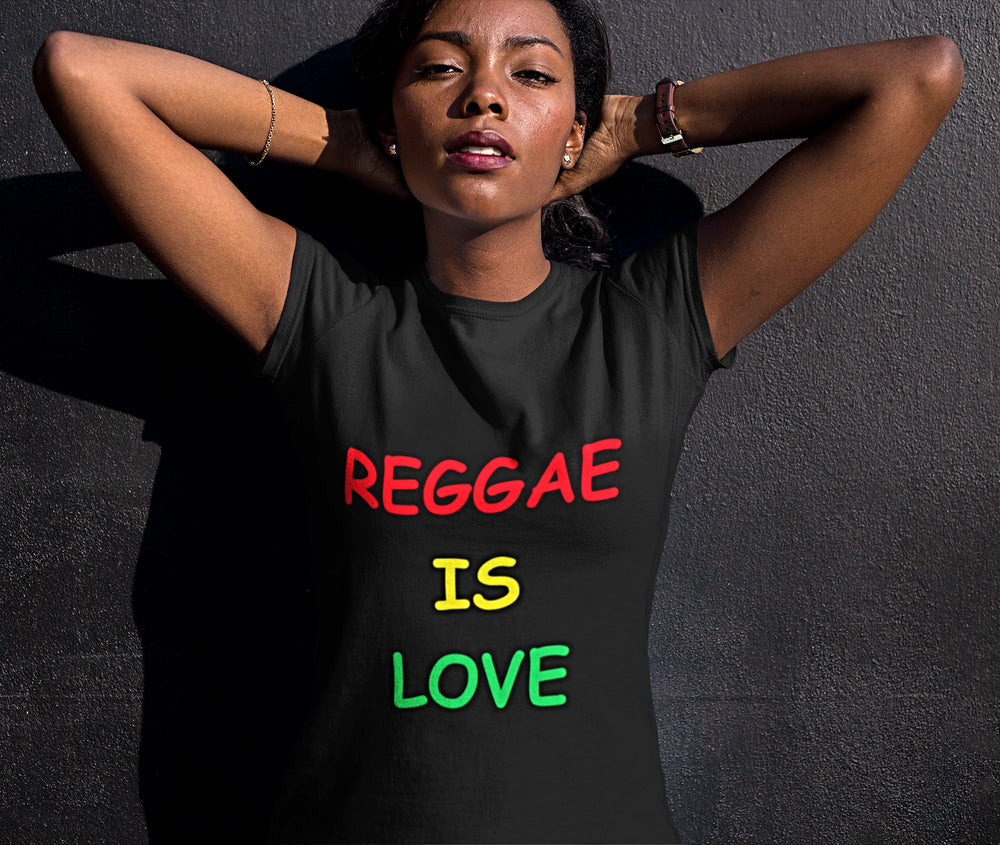 Women's Reggae is love Tee