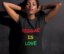 Reggae is love Women's Tee