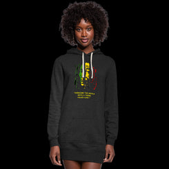"Women's ""Overcome the Devils"" Hoodie Dress"