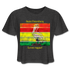 Saint Petersburg Loves Reggae Cropped T-Shirt - deep heather