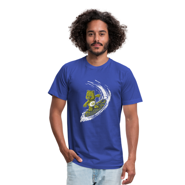 Surfing High Men's Tee - royal blue
