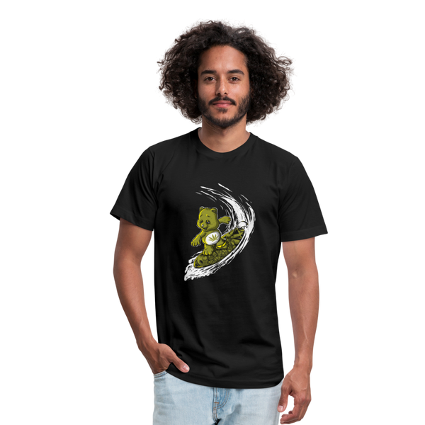 Surfing High Men's Tee - black