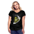 Women's Surfing High V-Neck T-Shirt - black