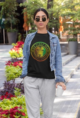 Women's IVG Rasta Lion Medallion Tee