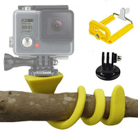 Yellow Pod Trépied Flexible Go Pro et Smartphone - AVKitchome