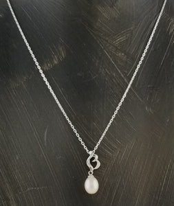 Sterling Silver Freshwater Pearls Necklace