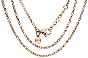 Qudo Anchor chain ''Basic'' / Rose gold Plated