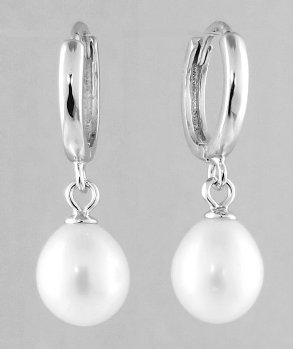 Sterling Silver Freshwater Pearls Earrings