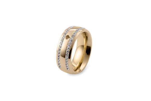 Qudo Interchangeable ring lecce /gold