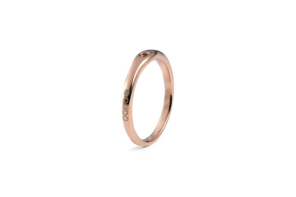 Qudo Interchangeable Ring FINE / Rose Gold Plated