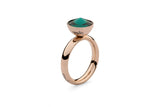 Qudo Interchangeable basic ring/ Gold