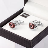 Crystal Cufflinks French Shirt With Gift Box
