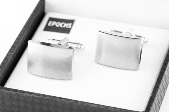 Brushed Cufflinks French Shirt With Gift Box