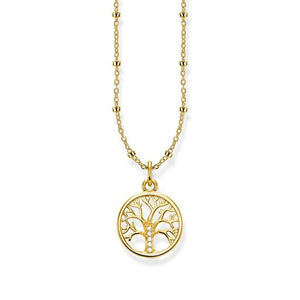 "THOMAS SABO NECKLACE ""TREE OF LOVE GOLD"""
