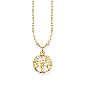 "THOMAS SABO ""NECKLACE TREE OF LOVE GOLD """