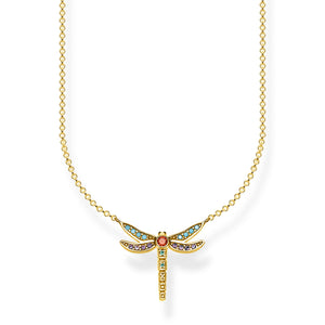 "THOMAS SABO ""NECKLACE DRAGONFLY SMALL""GOLD"