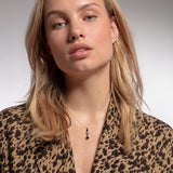 "THOMAS SABO ""TNECKLACE BLACK MIX OF SHAPES"""