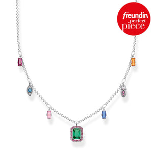 "THOMAS SABO ""NECKLACE COLOURFUL LUCKY SYMBOLS, SILVER"""