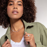 "THOMAS SABO ""NECKLACE BAGUETTE SHAPE"""