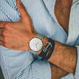 Paul Hewitt White Sand Watch Stainless Steel Mesh Strap