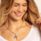 "THOMAS SABO CHARM PENDANT ""CROSS COLORFUL"""