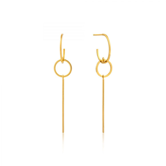 ANIA HAIE MODERN SOLID DROP EARRINGS