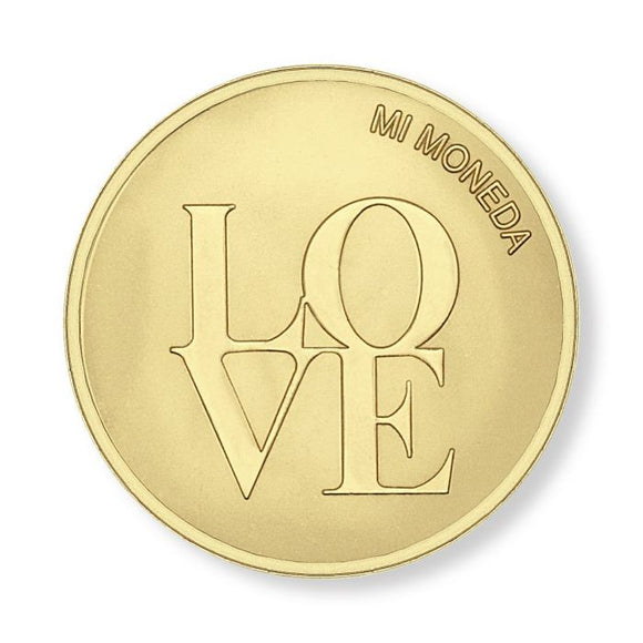 MI MONEDA LOVE & DREAMCATCHER GOLD PLATED DESK