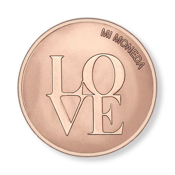 MI MONEDA LOVE & DREAMCATCHER ROSEGOLD PLATED DESK